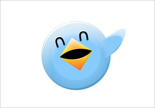 Twitter Bird Waving